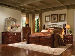 Modern Bedroom Set Dark Wood Bed Frame Bedroom Furniture Wonderful Dark Brown Color Wood