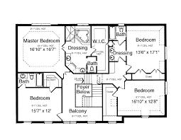 4 bedroom 2 story house floor plans