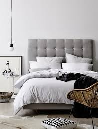 dreaming of upholstered bedheads bedrooms gray and interiors find grey headboard at shopstyle shop the latest collection of grey headboard from the most popular stores all in one place