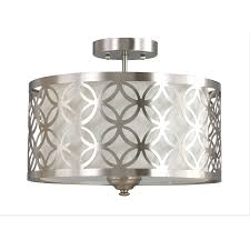Foyer Chandeliers Lowes by Shop Semi Flush Mount Lights At Lowes Com