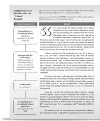 examples of a   paragraph essay
