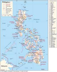 Sierra Madre Occidental Map The Geography Of The Philippines