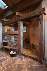 bathroom bathroom walk in shower designs rustic grotto walk in