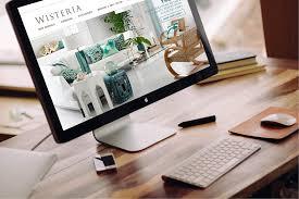 Wisteria Home Decor by Jessica Oviedo Art Direction Graphic And Web Design Portfolio