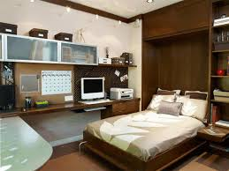 wall storage ideas bedroom high gloss finishing wooden furniture