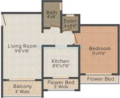 1 bhk 481 sq ft apartment for sale in tharwani meghna montana at