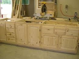 unfinished wall mounted oak kitchen cabinet for large kitchen