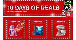 target online black friday deals target 10 days of doorbuster deals in store and online starts