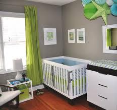 baby nursery decor green curtain baby boy nursery colors white