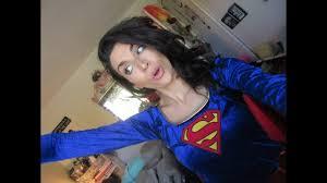 Supergirl Halloween Costume Supergirl Halloween Costume Makeup Tutorial 2016