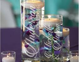 Purple Floating Candles For Centerpieces by Green U0026 Pink Orchid Floating Candle Wedding Centerpiece