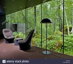 juvet landscape hotel valldal norway stock photo royalty free