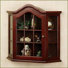 Wall Mounted Cupboards Curio Cabinet Curio Cabinet Canister Light Wonderful Wall