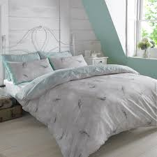 dreamscene duvet cover with pillowcase polycotton bedding set