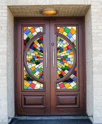 stained glass door film 284 best stained glass images on pinterest glass art mosaics