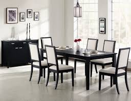 Contemporary Dining Room Table by Black Dining Room Sets Provisionsdining Com