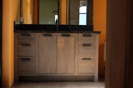simple unfinished plexwood rustic bathroom vanities with drawers