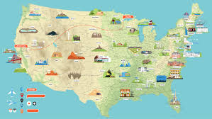 United States Map Delaware by United States Map Click And Learn United States Political Map Map