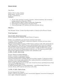 Examples Of Sales Resumes  resume template sample resume