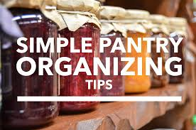 simple pantry organizing tips on task organizing professional
