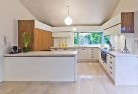 Painted Kitchen Ideas by Modern Kitchen Ideas With Wooden White Painted Kitchen Cabinets