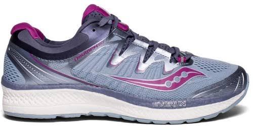 Saucony Triumph Iso 4 Fog / Grey Purple Ankle-High Mesh Running 10W