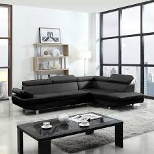 Amazoncom  Piece Modern Contemporary Faux Leather Sectional - Sofa modern 2