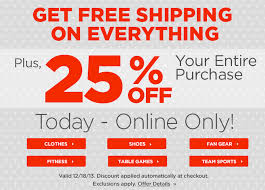 Free Shipping Home Decorators Code Extra 25 Off And Free Shipping Sitewide At Sports Authority
