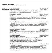 Ecommerce Resume Sample by Consultant Resume Template 8 Free Samples Examples Format