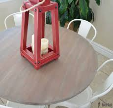 farmhouse style round pedestal table her tool belt