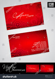 Business Card Eps Template Abstract Professional Designer Business Card Template Stock Vector