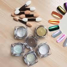becoyou nail glitter powder shinning nail mirror powder set makeup