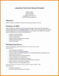 lab assistant resume resume for your job application