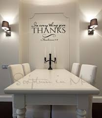 all of this happened by taking your hand romantic couples quote in every thing give thanks dining room or kitchen vinyl decal