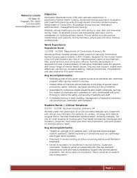 Cover Letter Template For  Entry Level Rn Resume Examples Entry     Resume For Nursing Home