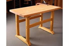 Plans For Building A Wooden Workbench by Free Simple To Build Workbench Woodworking Plan