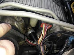 pontiac sunfire questions where is the reference sensor located