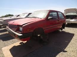 lexus junkyard los angeles junkyard find 1986 chevrolet sprint the truth about cars