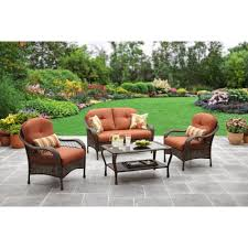 Wicker Resin Patio Furniture - patio cool conversation sets patio furniture clearance with