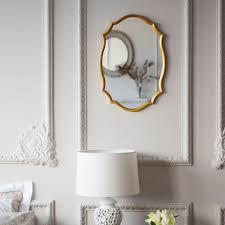 espejo perfil dorado espejos decoración zara home méxico