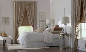Bedroom Drapery Ideas Bedroom Curtain Wood Picture Frame White Sofa Chair Brown Chusion
