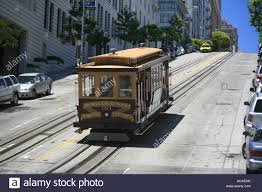 San Francisco Cable Car Map by Hilly San Francisco Streets Stock Photos U0026 Hilly San Francisco