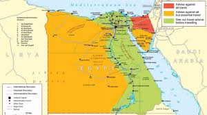 Egypt On A World Map by Egypt Itv News