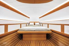 clubswan 50 yacht features luxe interiors by poltrona frau and