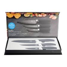 taylors eye witness brooklyn 3 piece kitchen knife set copper