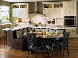kitchen square modern wooden kitchen island with round top
