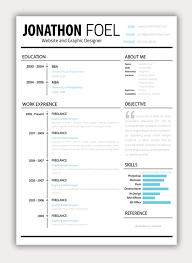 Creative and Funky Resume Designs happytom co