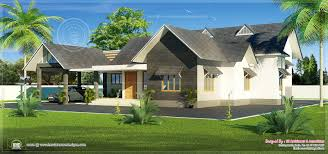 bungalow house design in 2051 sq feet house design plans
