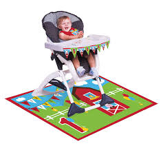 Farmhouse Kit Amazon Com Creative Converting Farmhouse Fun High Chair Birthday