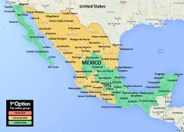 San Luis Potosi Mexico Map by 1stoptionsafety Mexico